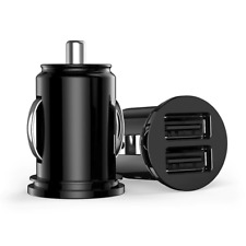 Mini Dual USB 2 PORT Car Charger 2.1A Smart Adapter for iPhone Samsung Google