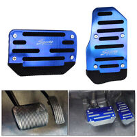Universal Automatic Car Gas Brake Accelerator Foot Pedal Non-Slip Pad Cover Blue