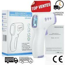 Thermomètre Frontal Sans Contact Digital Bébé Adulte CE Neuf livré en 2 jours fr