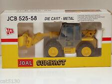 JCB 525-58 Loadall Telehandler w/ Bucket - 1/35 - Joal #245 - MIB