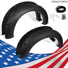 Bolt-On Pocket Rivet Fender Flares Fit 04-08 F150 07-08 Mark LT Styleside New