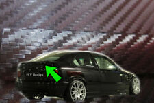 BMW E36 COMPACT tuning karbon carbon spoiler abrisskante heckspoilerlippe heck