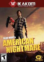 Alan Wake's American Nightmare -Steam- Digital Download