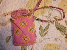 New Longaberger Sisters Truly Cell Phone Case Pink Lk Vera Bradley wallet EASTER