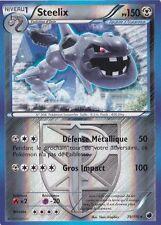 Steelix Reverse - N&B:Glaciation Plasma - 79/116 - Carte Pokemon Neuve Française