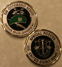 Army Special Forces Green Beret Challenge Coin      E_S