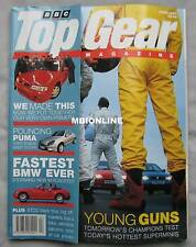 Top Gear 04/1997 featuring Citroen Saxo VTS, Peugeot 106 GTi, Renault Clio RS