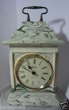 "AYNSLEY PORTLANDWARE ""GEORGIAN CLOCK MARBLE"" 97031 NEW & BOXED BATTERY REQUIRED"