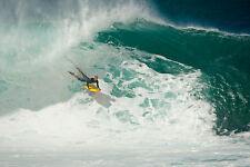 """Mike Stewart 8x12"""" Glossy Photo at Pipeline (Hawaii)"""