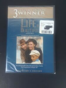 (NEW) Life is Beautiful (DVD,2010, Canadian, Collector's Edition) Factory Sealed