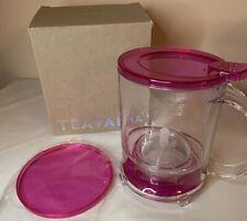 New Teavana Perfectea Maker 16 Oz Fuchsia Pink in Box NIB