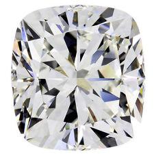 3.00 carat Cushion cut Diamond loose GIA certificate H color VVS2 clarity Ideal