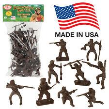 TimMee Processed Plastic 24 Tim Mee Davey Crockett Daniel Boone Pioneer Figures