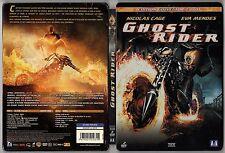 GHOST RIDER - avec Nicolas CAGE & Eva MENDES - 2007 - 110 min - 2 DVD Steelbox