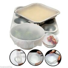 Norpro Silicone Stretch Bowl Covers 2 Set Reusable Microwave Safe 529