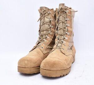 Desert Jump Military Army Suede Tactical Work Boots Men's Sz 12 R VIBRAM Soles
