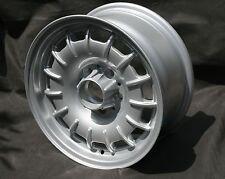 4 Mercedes W 107, 114, 115, 116, 123, 124, 126 Barock Design Felgen 7x15 mit TÜV