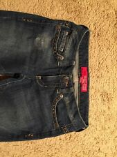 GUESS Distressed Studded Boot Cut Jeans...SIZE 26