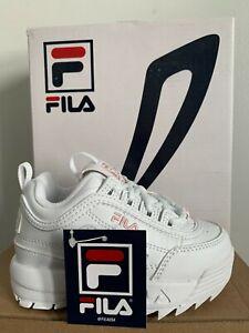 fila disruptor ll white/pink infant shoes S/N 7FM00038-154 NWB