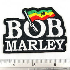 """Bob Marley embroidered iron on patches appliques 2.25x3"""""""