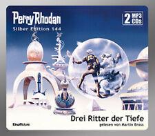 """PERRY RHODAN SILBER-EDITION 144 �€"""" DREI RITTER DER TIEFE �€"""" 2 MP 3- CD`s, NEU OVP"""