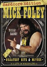 WWE - Mick Foley Greatest Hits & Misses (DVD 2007 3-Disc Set) New Sealed Mankind