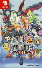 World of Final Fantasy Maxima [Nintendo Switch RPG Square Enix Anime Catch] NEW