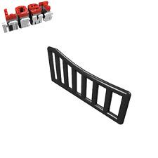 2 X NUOVO [] LEGO griglia 1 x 8 x 3 - 1 x 8 x 4 ripiegata-NERO - 95229