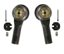 For Pair Set of 2 Front Outer Steering Tie Rod Ends Moog for Nissan Infiniti