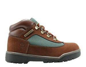 Timberland Youth's Field Boots (PS) NEW AUTHENTIC Brown/Olive 16737