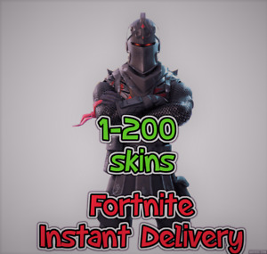 Account Instant Delivery 1-200 Skins - RARE SKINS Maybe included - Warranty