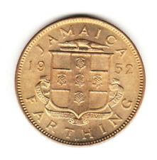 1952 Jamaica King George VI  1 One Farthing High Grade Beautiful Coin