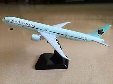 18CM Solid AIR CANADA BOEING 777 Passenger Plane Airplane Metal Diecast Model