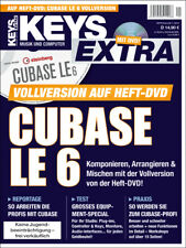 Cubase LE 6 Vollversion auf Heft DVD in Keys