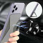 Magnetic Card Holder Stand Mount For Mobile Cell Phone iPhone Samsung Pixel LG