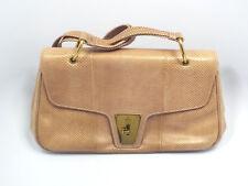 Gucci Lizard Skin Light Rose Pink Leather Shoulder Bag Purse, w/ Dust Bag