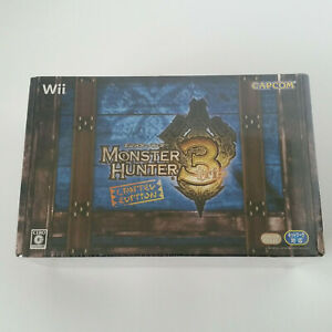 Monster Hunter 3 Tri e-Capcom Exclusive Limited Edition - Nintendo Wii, Sealed
