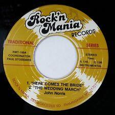 "JOHN NORRIS Here Comes The Bride & Bride Cuts The Cake RMT100 7"" 45rpm Vinyl VG+"
