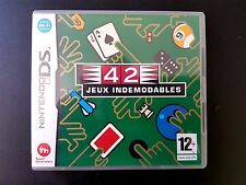 42 JEUX INDEMODABLES - Nintendo NDS - EUROPE - RARE, MINT & COMPLETE