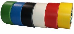 AT8 PVC Bodenmarkierung Klebeband 50 mm x 33m stark klebend Straßenmarkierung