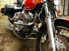 Yamaha Dragstar Vstar XVS 1100 Custom A Classic Crash Bar Engine Guard with Pegs