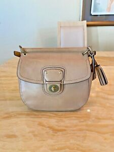COACH Legacy Willis British Tan Leather Bag