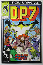 D.P. 7 #4 (Feb 1987, Marvel) New Universe (C3350)