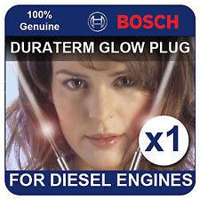 GLP001 BOSCH GLOW PLUG ROVER 418 1.9 D Tourer 91-95 XUD9 65bhp