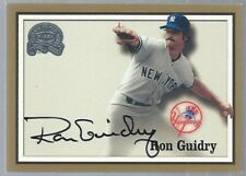 2000 Greats of the Game Autograph Ron Guidry Yankees