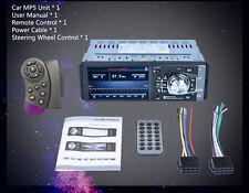LCD Screen 1080P 1 Din Bluetooth Car Radio Stereo FM Aux MP3 MP4 MP5 Player USB