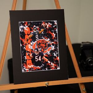 Chicago Bears - Brian Urlacher #54 Lance Briggs #55 - Custom Artwork Available