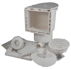 Skimmer Pool Oberflächenabsauger Set SK 3 Mini Stahlwand Ersatzteil Einlaufdüse