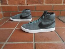 NIKE Grey SUEDE Hi-Top Trainers * sz 5 uk * FAB CONDITION!