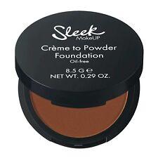 NEW Sleek Creme To Powder Foundation SHADES C2P18 - {Chocolate Fudge]